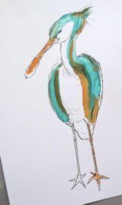 Cursus Hoe teken je een vogel